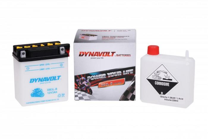 Batterie DB3L-B  / YB3L-B (DIN 50313 / YB3LB / DADB3LB)