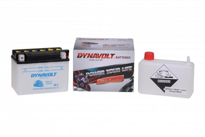 Batterie DB4L-B  / YB4L-B (DIN 50411 / YB4LB / DADB4LB)