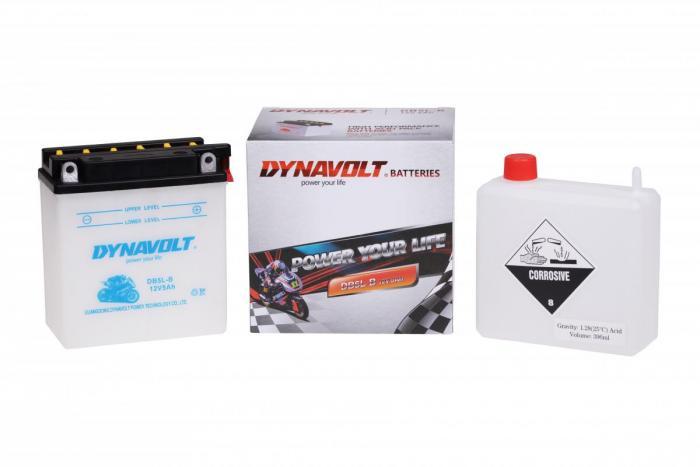 Batterie DB5L-B  / YB5L-B (DIN 50512 / YB5LB / DADB5LB)