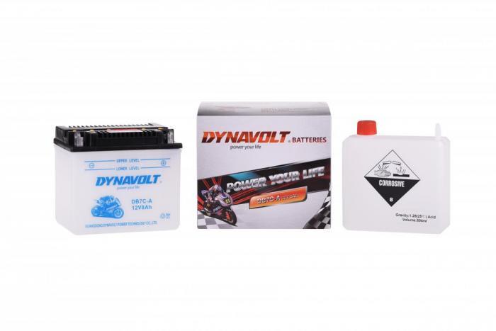 Batterie DB7C-A  / YB7C-A (DIN 50701 / YB7CA / DADB7CA)