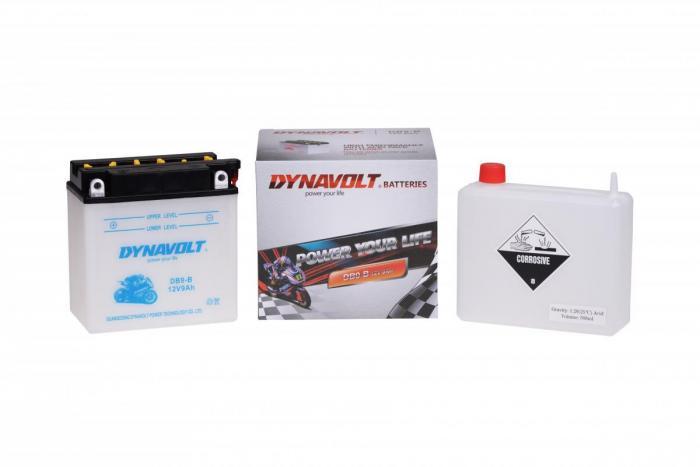 Batterie DB9-B  / YB9-B / YB9B (DIN 50914 / DB9B / DADB9B)