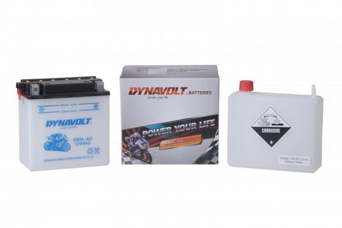 Batterie DB9L-A2  / YB9L-A2 (DIN 50916 / YBLA2 / DADB9LA2)