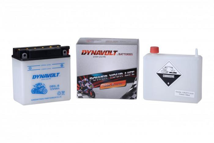 Batterie DB9L-B  / YB9L-B (DIN 50915 / YB9LB / DADB9LB)