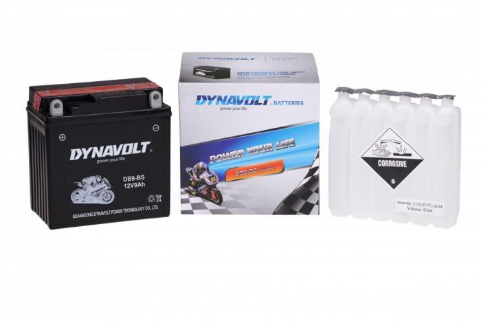 Batterie DB9-BS  / YB9B / YTX9A-BS (DB9BS / DBDB9BS)