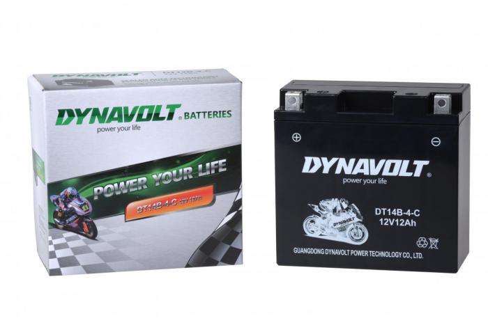 Batterie DT14B-4-C  / DT14B-4 / YT14B-4 (DIN 51203 / YT14BBS / YT14B4)