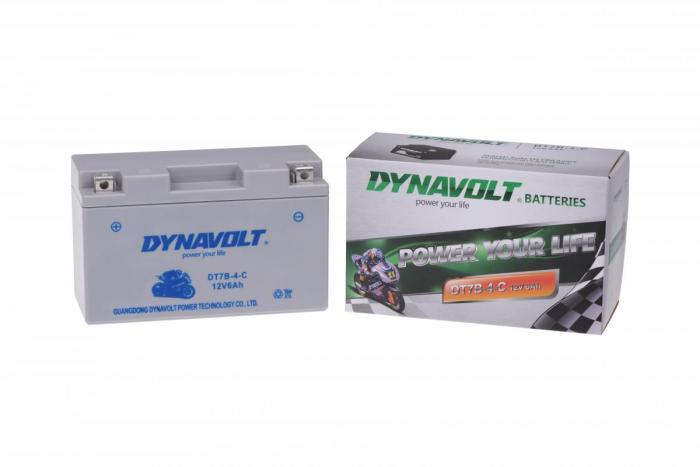Batterie DT7B-4-C  / DT7B-4 / YT7B-4 (DIN 50798 / YT7BBS / YT7B4)