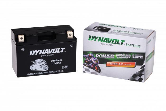Batterie DT9B-4-C  / DT9B-4 / YT9B-4 (DIN 50902 / YTBBS / YT9B4)