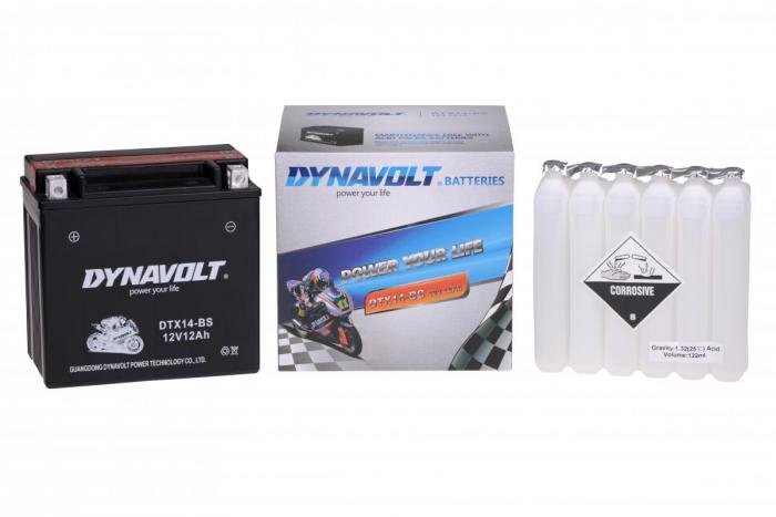 Batterie DTX14-BS  / YTX14-BS (DIN 51214 / YTX14BS / DBDTX14BS)