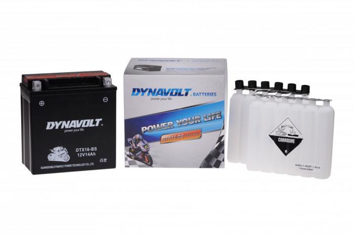 Batterie DTX16-BS  / YTX16-BS / YTH16-12 / YTX16-BS (DIN 51402 / YTX16BS / DBDTX16BS)
