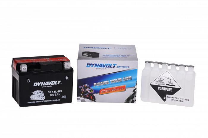 Batterie DTX4L-BS  / YTX4L-BS (DIN 50314 / YTX4LBS / DBDTX4LBS)