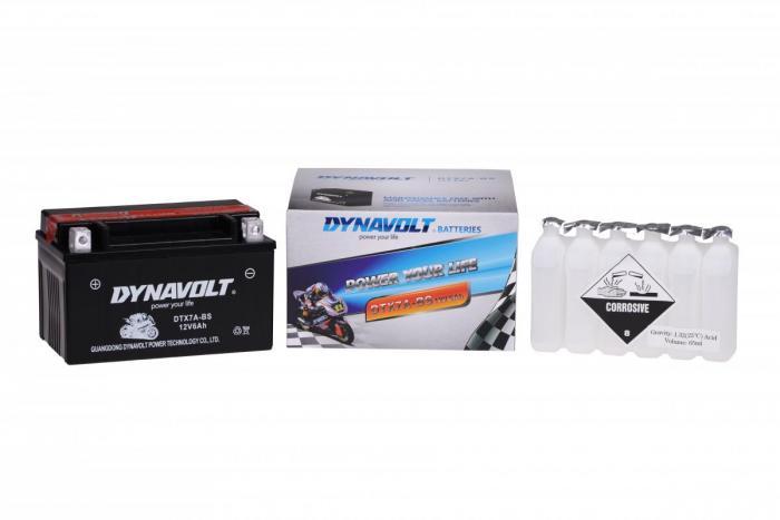 Batterie DTX7A-BS  / YTX7A-BS (DIN 50615 / YTX7ABS / DBDTX7ABS)