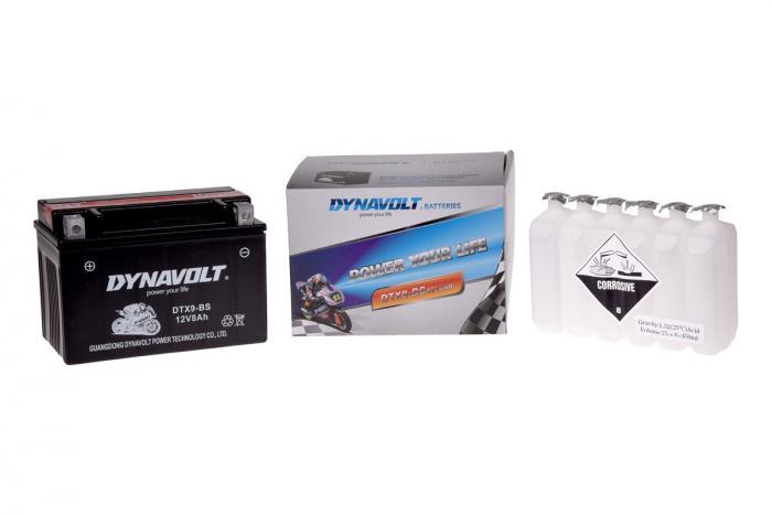 Batterie DTX9-BS  / YTX9-BS (DIN 50812 / YTX9BS / DBDTX9BS)