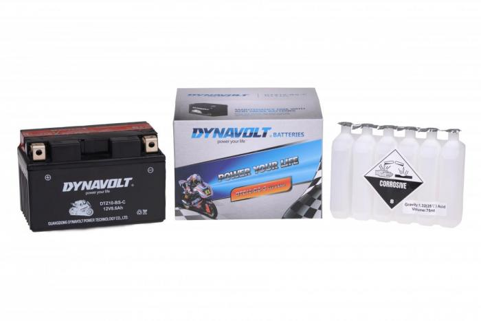Batterie DTZ10-BS-C  / YTZ10-S / YTZ10S-BS (DIN 50801 / YTZ10BSC / DBDTZ10BSC)