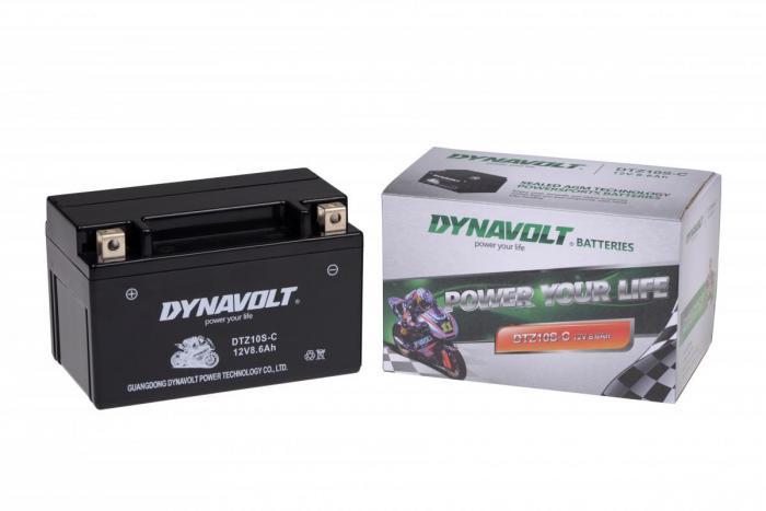 Batterie DTZ10S-C  / DTZ10-S / YTZ10-S (DIN 50801 / YTZ10SC / DBDTZ10SC)