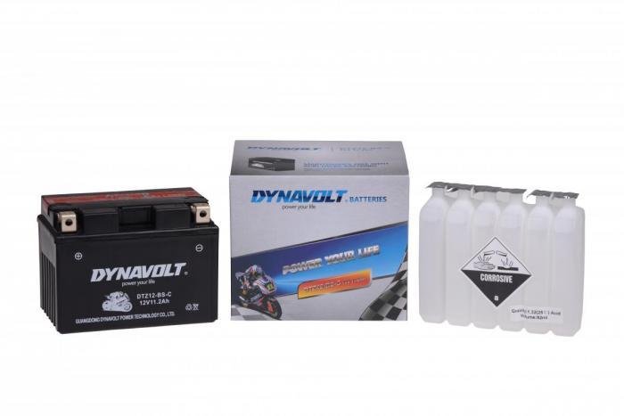 Batterie DTZ12-BS-C  / YTZ12-S / YTZ12S-BS (DIN 50901 / YTZ12BSC / DBDTZ12BSC)