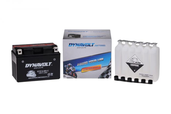 Batterie DTZ14-BS-C  / YTZ14-S / YTZ14S-BS (DIN 51102 / YTZ14BSC / DBDTZ14BSC)