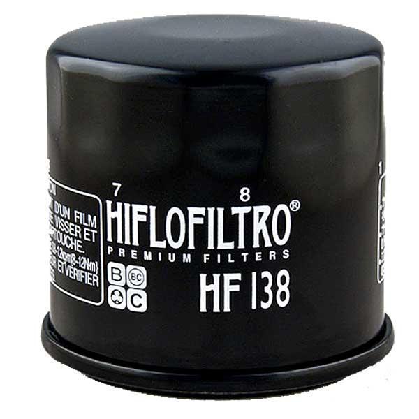 Filtro Aceite Motor HiFlo hf138/para Suzuki VS 750/Intruder 1991