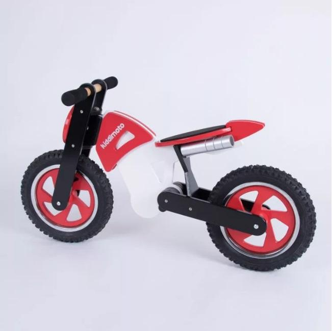 Kiddimoto - Balance bike - Red scrambler  (CLEARANCE)