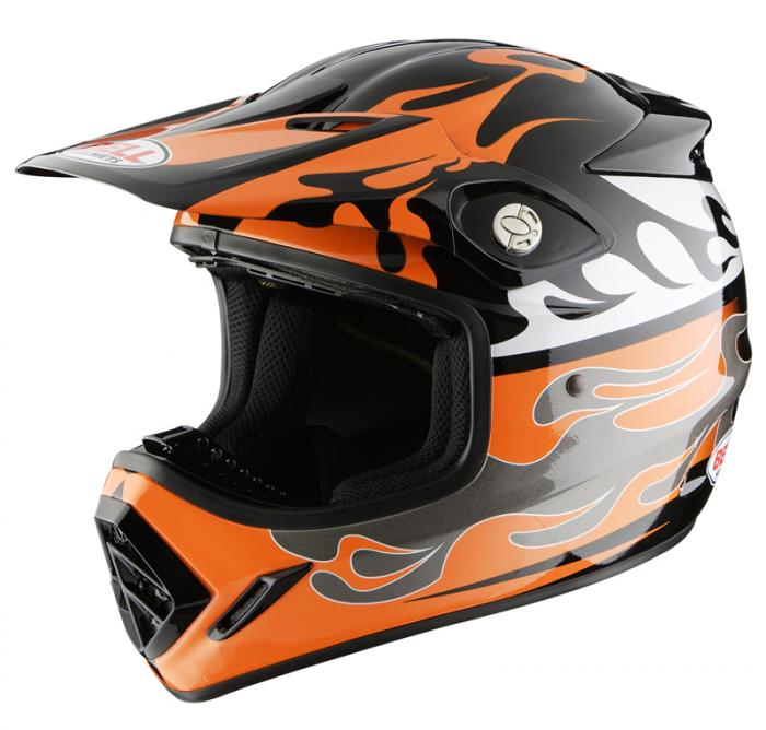 Casque Bell off-road  - Moto8K Fire orange - XS