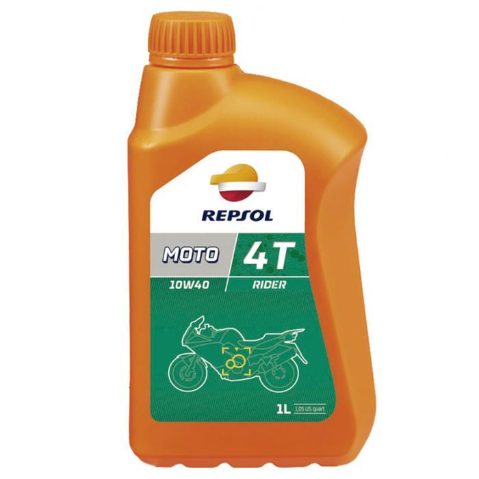 4-T olie Moto Rider 10W40