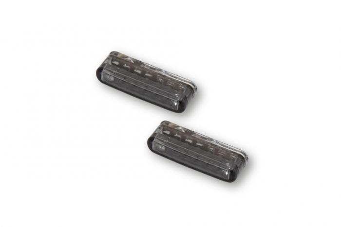 Led taillight with integrated indicators - 2 pieces (254-071)