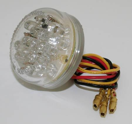 Universal taillight - round / leds (255-080)