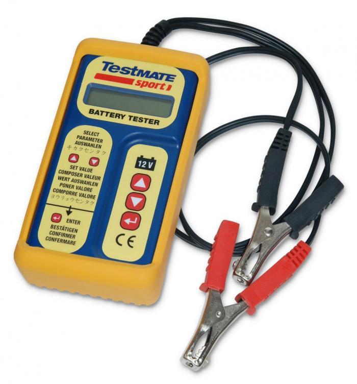 Testeur batterie électronique