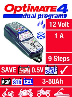 OptiMate 4-dual - 12V / 1A